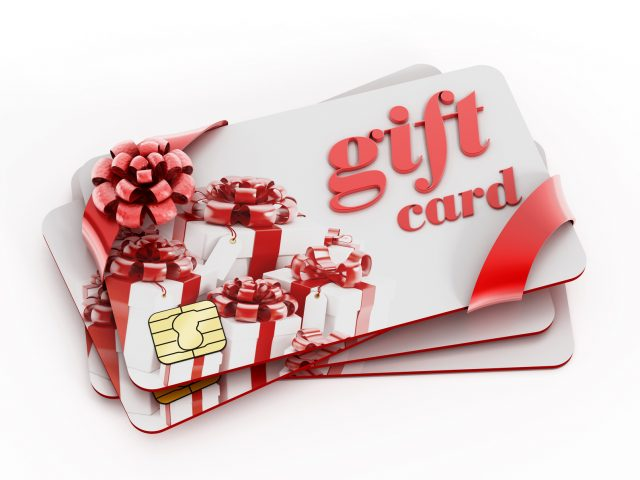 A Surprising Percent of Reloadable Prepaid Gift Cards Happen at These Three Locations: