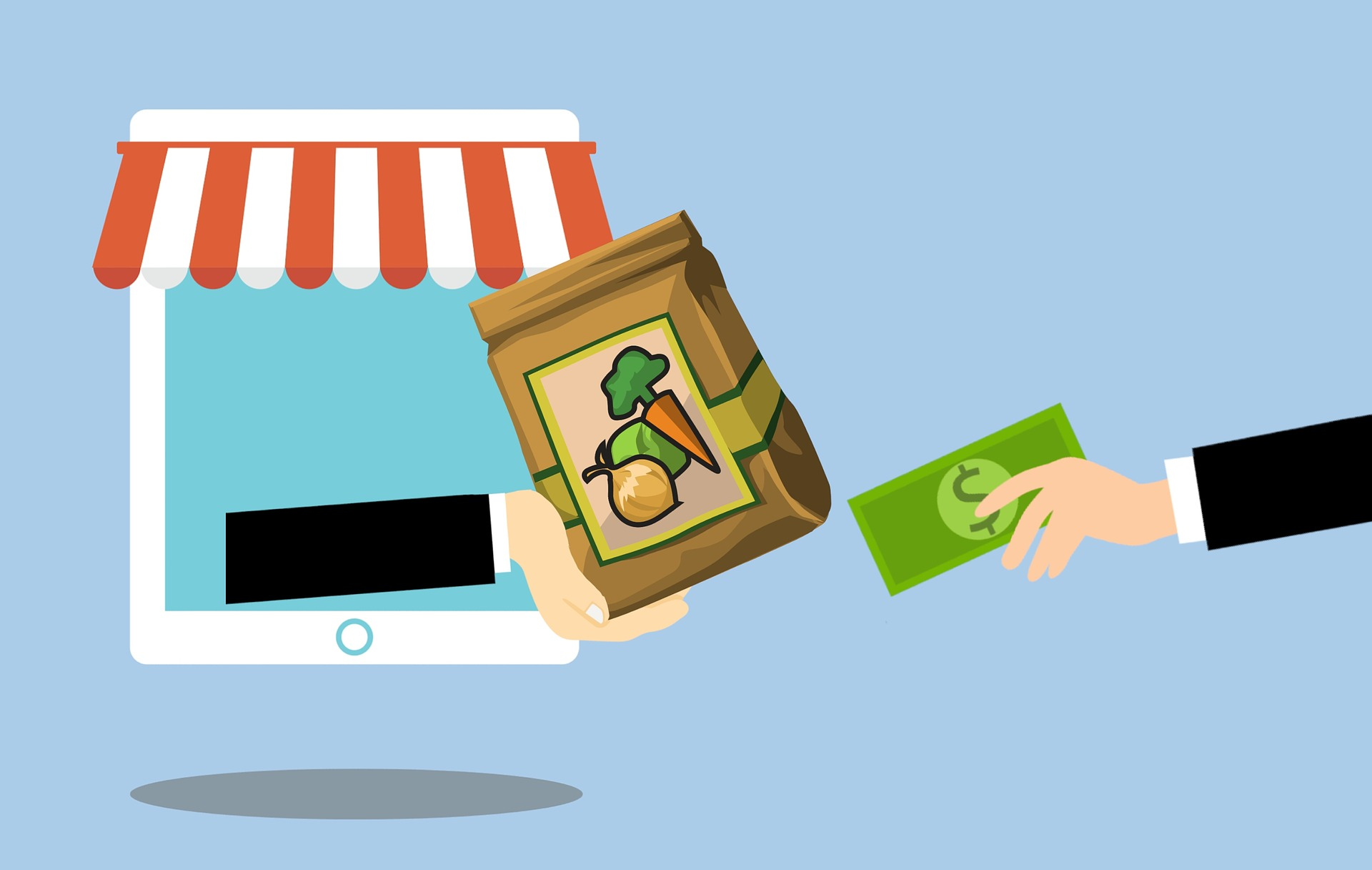 7 Stats about the Emergence of Online Grocery Fulfillment: