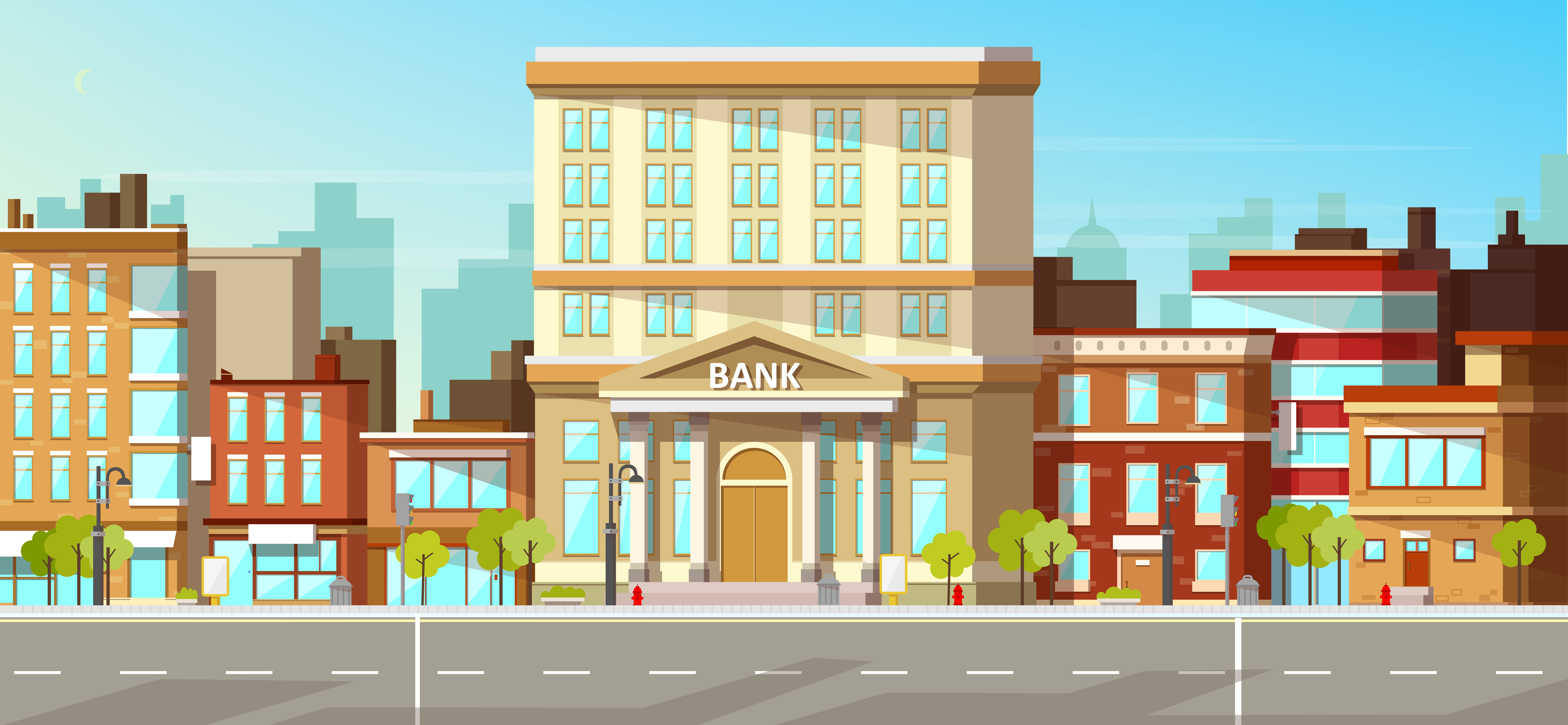 The Evolution of the Bank on the Street Corner