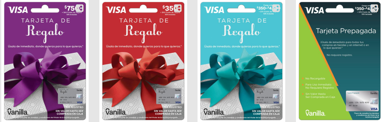 The Ideal Gift for Everyone Debuts in Mexico: Vanilla® Visa
