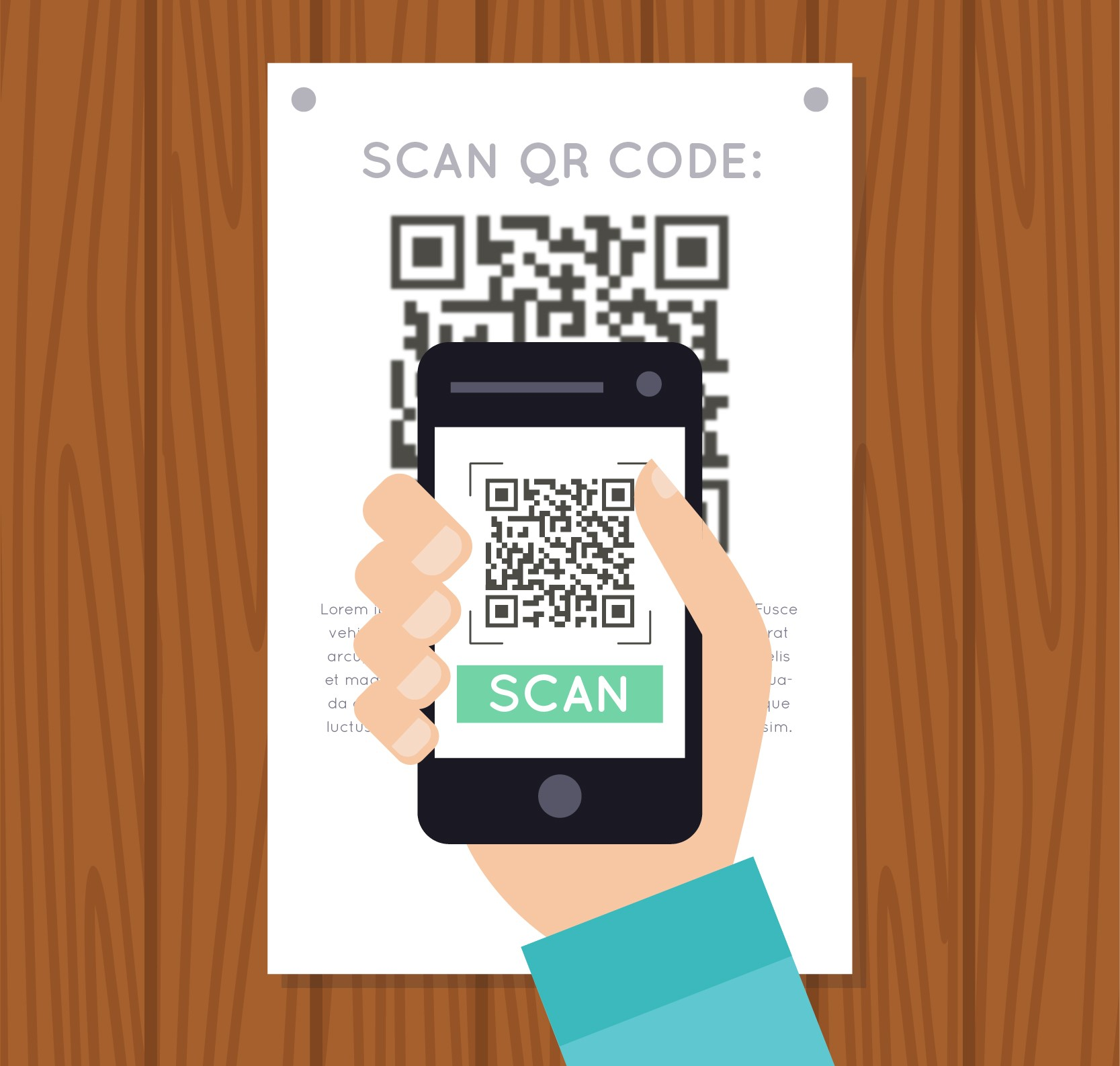 Will use of QR codes grow in the age of social distancing and eventually displace cards?