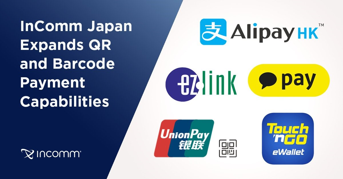InComm Japan Expands QR and Barcode Payment Capabilities