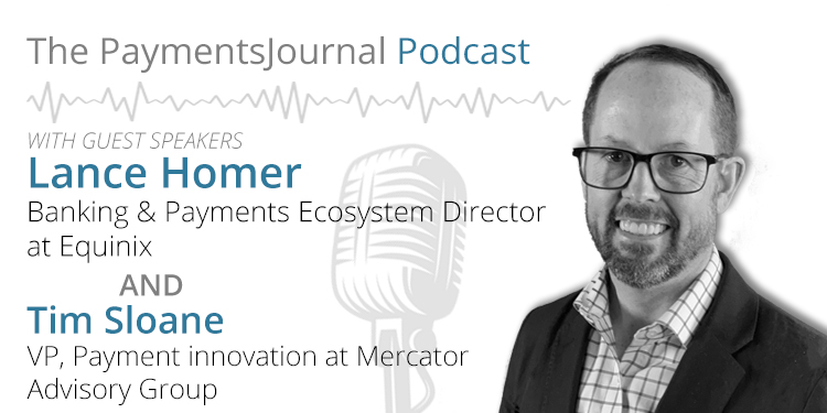 APIs are the future of banking (podcast) Lance Homer of Equinix (podcast) [latency, private vs public connections]...